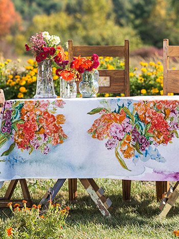 Bountiful Bouquet Tablecloth