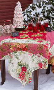 Christmas Patchwork Tablecloth