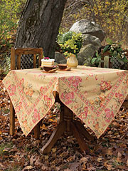 Conservatory Tablecloth - Gold