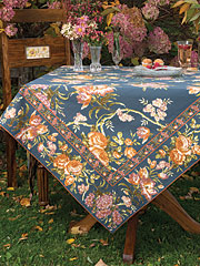 Conservatory Tablecloth - Smoke