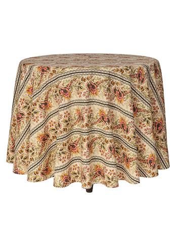 Cornucopia Round Cloth