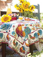 Doodle Doo Tablecloth