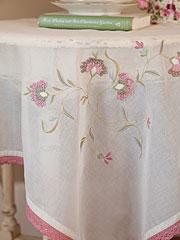 Isabella Emb Topper Cloth