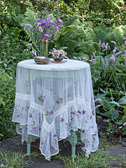 Margaret's Emb Tablecloth