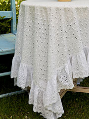 Evie Eyelet Topper Cloth