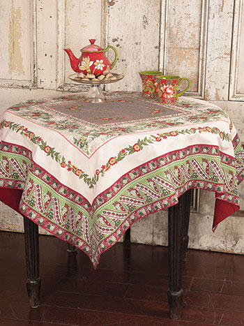 Joyful Patchwork Tablecloth