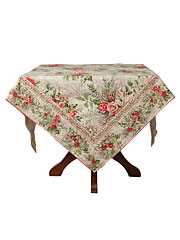 Merry Tablecloth - Antique