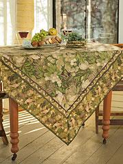 Nature Study Tablecloth