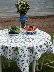 Blueberries Oilcloth