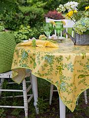 Garden Sparrow Oilcloth