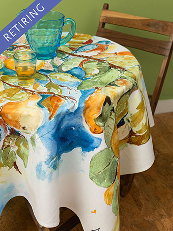 Pears Tablecloth