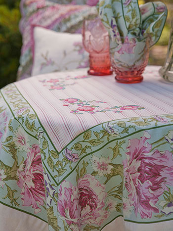 Pretty Patchwork Tablecloth