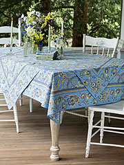Queen's Court Tablecloth