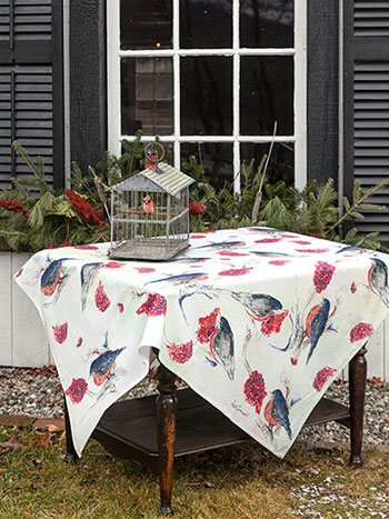Robin Tablecloth