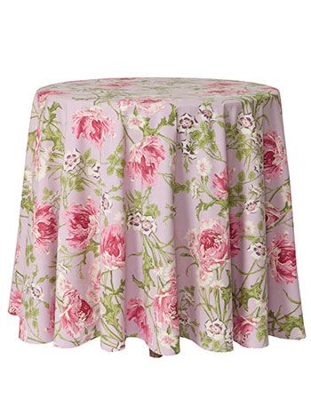 Rose Nouveau Round Cloth