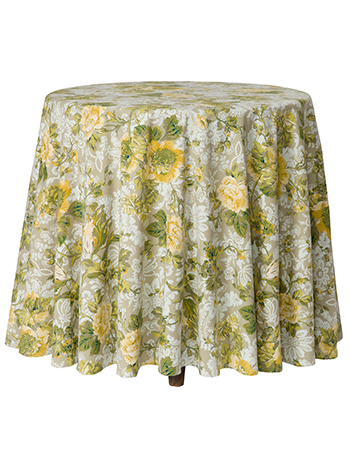 Tea Rose Round Cloth