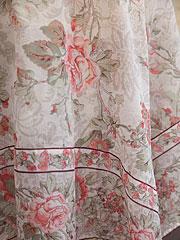 Tea Rose Organdy Topper Cloth