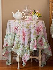 Rose Nouveau Voile Topper Cloth