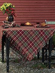 Cabin Plaid Tablecloth