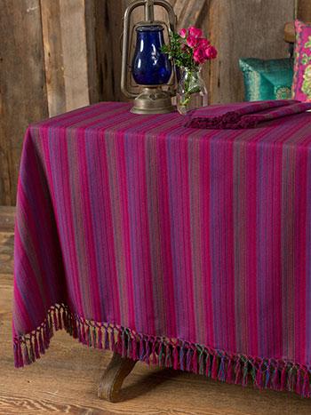 Jaipur Stripe Tablecloth