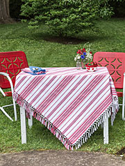 Mingle Stripe Tablecloth