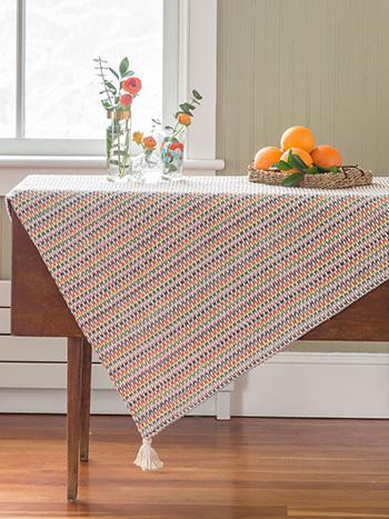 San Francisco Stripe Tablecloth