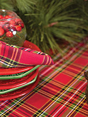 Tartan Plaid Tablecloth