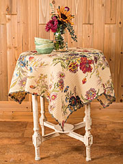 Wildflowers Waffle Tablecloth