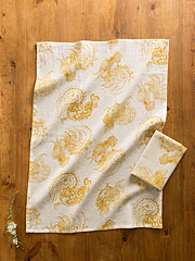 Backyard Rooster Tea Towel S/2