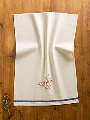 Birdhouse Doodle Emb Towel
