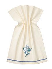 Evelyn Emb Tea Towel