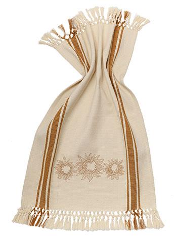 Soleil Embroidered Tea Towel