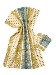 French Lotus Tea Towel Set/2