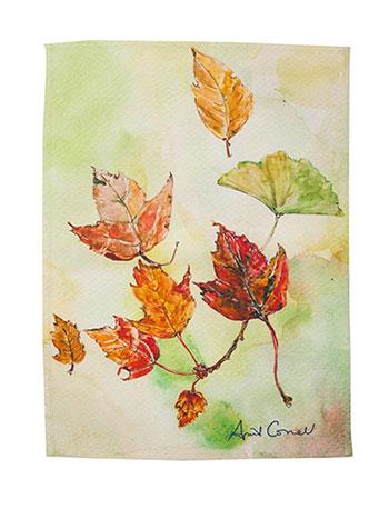 Leaves Tea Towel