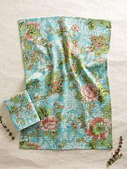 Tea Rose Tea Towel S/2