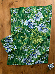 Water Lily Tea Towel S/2
