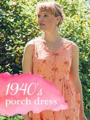 1940s Porch Dress